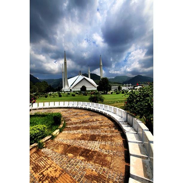 Mega Mendung | Faisal Masjid | Faisal Avenue | #Islamabad, Pakistan