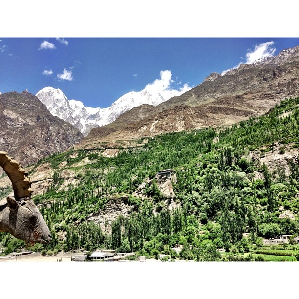 Daily View for Hunzakutz | #Altit Fort | Altit Village | #Karakoram Highway Journey | #Hunza Valley | #iPhonegraphy | #Gilgit-Baltistan Region | Northern #Pakistan