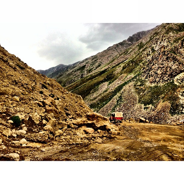 Descending To Naran | Babusar Top at 4,173m | #Babusar Pass | Highest Road at #Kaghan Valley | iPhoneography | Northern Pakistan Trip 2013 | #Khyber Pakhtoonkhwa Province, #Pakistan