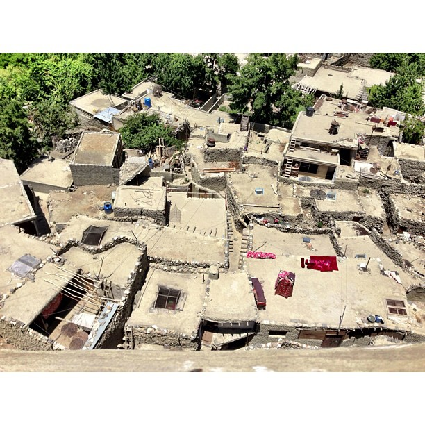 Rooftop View | #Altit Fort | Altit Village | #Karakoram Highway Journey | #Hunza Valley | #iPhonegraphy | #Gilgit-Baltistan Region | Northern #Pakistan