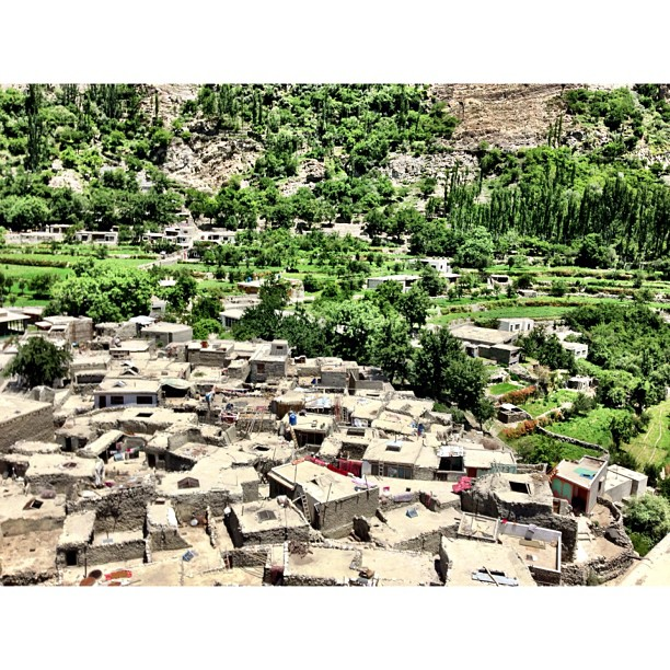 Mud Houses | #Altit Fort | Altit Village | #Karakoram Highway Journey | #Hunza Valley | #iPhonegraphy | #Gilgit-Baltistan Region | Northern #Pakistan