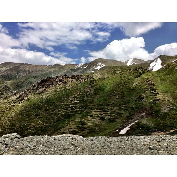 Approaching Babusar Top at 4,173m   #Babusar Pass   Highest Road at #Kaghan Valley   #Khyber-Pakhtoonkhwa Province, #Pakistan