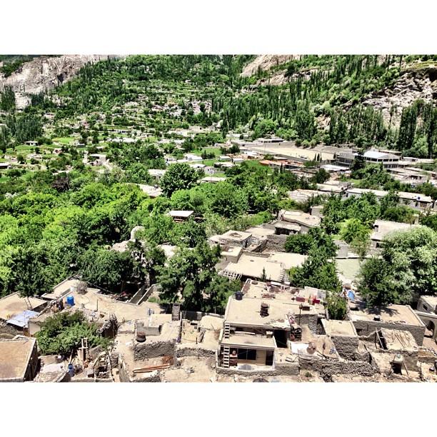 Another View | #Altit Fort | Altit Village | #Karakoram Highway Journey | #Hunza Valley | #iPhonegraphy | #Gilgit-Baltistan Region | Northern #Pakistan