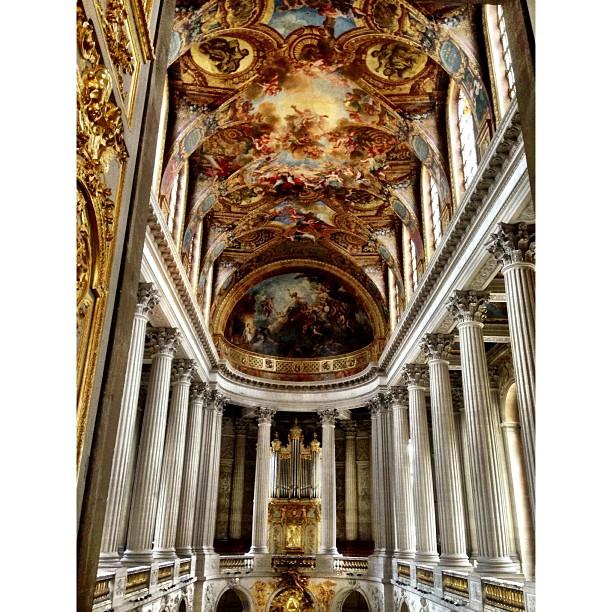 Kemain Lagi Depa Lukis Kat Ceiling tuh Naaaaa | Chateau de Versailles | Ramainya Manusia | iPhoneography | #JJCMPaghis | Versailles, France