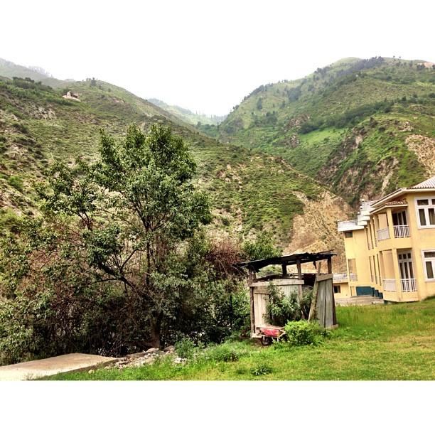 Lunch Break & Awaiting the Latest News on the #Nanga #Parbat Tragedy | #Fairyland Hotel | iPhoneography | #Malakandi, #Kaghan Valley | Khyber Pakhtoonkhwa Province | Pakistan