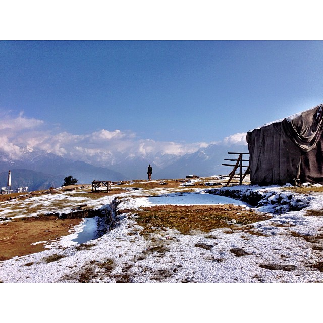 1st Snowfall of this #Winter Season 2013 | #Paye Meadows | #Shogran Meadows, Near #Kiwai | iPhoneography | #Kaghan Valley | Khyber #Pakhtoonkhwa Province, #Pakistan