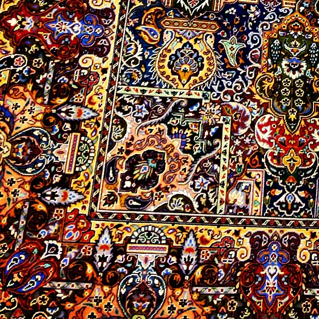 1001 Arabian Nights | Handmade 1200 Knots #Carpet | #Islamabad, Pakistan