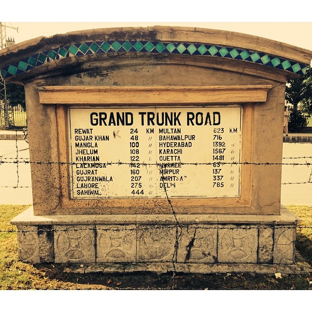 Old Grand Trunk Road @ GT Road Signage | Near Rangers Field | #Rawalpindi, Pakistan