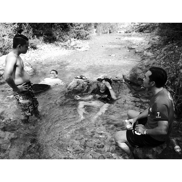Sakan Berendam | Busy Buat Kolam Sendiri | Back to Nature | Less Water Today | Mandi-Manda & Picnic Ikan Bakar | Autumn 2013 | #iPhoneography Adventure Trail | #Trail5 #Margalla Hill National Park | #Islamabad, Pakistan