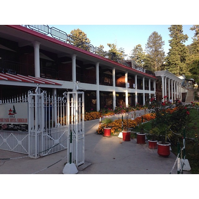 Welcome to #PineParkHotel | #Shogran | #Autumn2013 | iPhoneography | #KarakoramHighway | #KhyberPakhtunkhwa Province, Pakistan