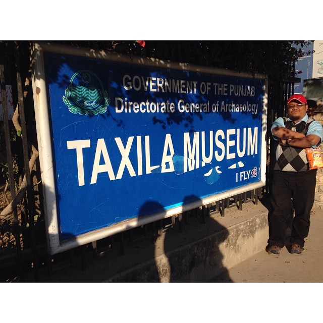 Welcome to Taxila Museum | UNESCO World Heritage Site | #Taxila Ruins | Winter 2013 | #Gandhara Civilisation | #Punjab Province, Pakistan