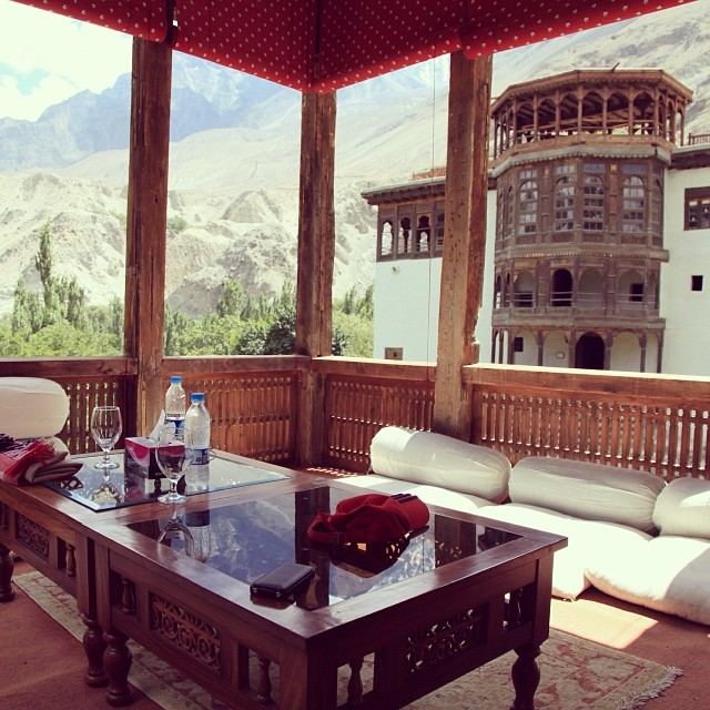 Breakfast Like A Maharaja | Refurbished Old Fort & Palace | #Khaplu Palace & Residences by #Serena Hotel | Summer 2012 | Road Less Travelled | Khaplu Valley | #Gangche District | Gilgit-#Baltistan Region | Northern #Pakistan