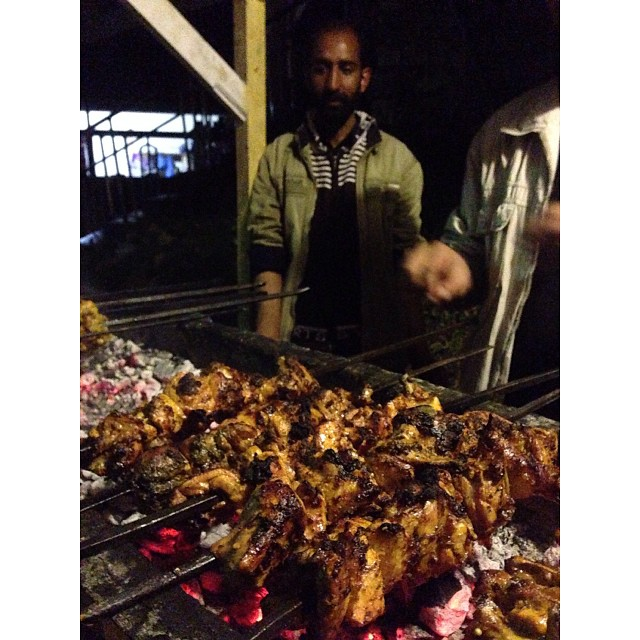 Dinner   Pine Park Hotel   #Shogran   Kaghan Valley   iPhoneography   Autumn 2013   Khyber Pakhtunkhwa Province, #Pakistan