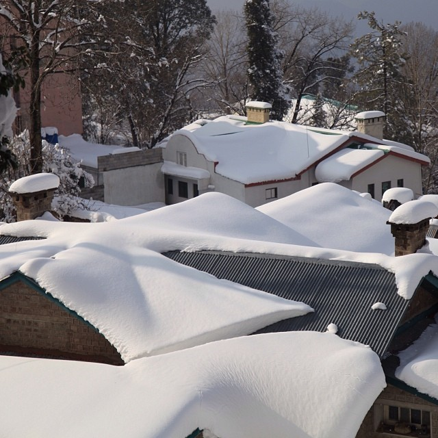 Thick Snow | #Winter 2012 | On the Way to #Kashmir Point | #Murree Hill | The #Galliyat | Punjab Province | #Pakistan