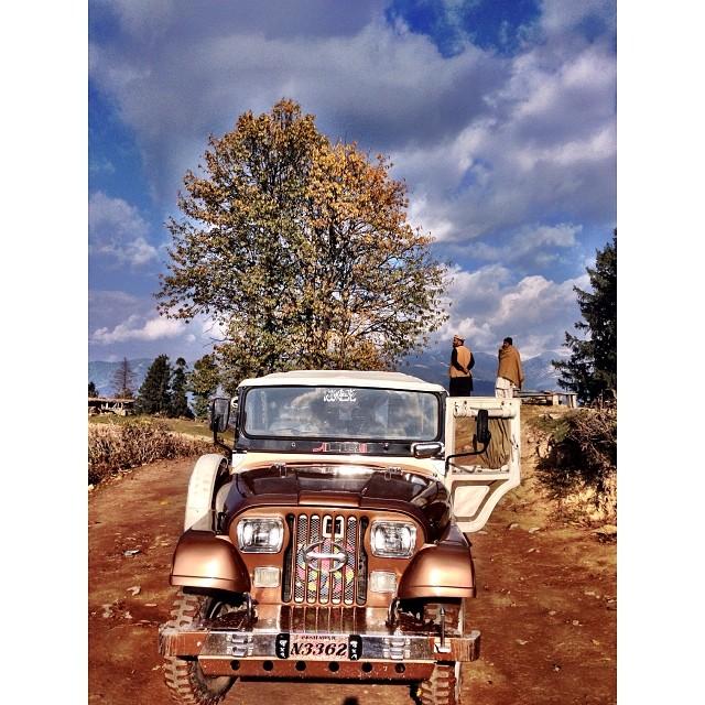 Jeep Ride from Shogran to Paye Meadows via Siri Lake | 1st Snowfall of this Winter Season | #Siri #Paye Meadows | #Shogran Meadows | #Kaghan Valley | iPhoneography | #Winter 2013 | Khyber #Pakhtunkhwa Province, #Pakistan