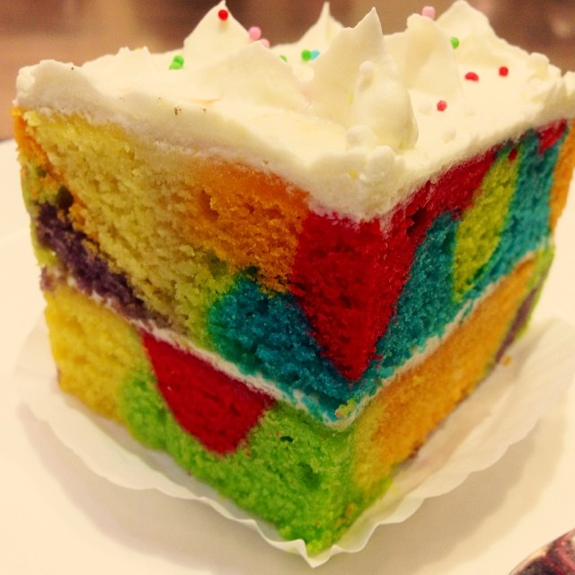Rainbow Theme Karrer Meh | Pacific Coffee Co | #SetiaAlam | Selangor, Malaysia