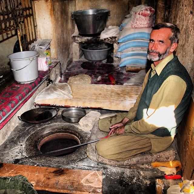 Me & My #Tandoor | Afaq Restaurant | #Nathiagali | #Winter 2012 | Khyber #Pakhtunkhwa Province, Pakistan