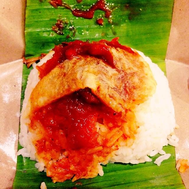 Nasi Lemak Vertical | #ManaTimunnya | KL, Malaysia Terchenta