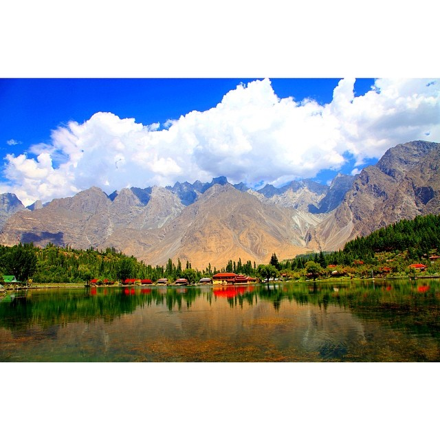 #Shangrila Skardu | Heaven on Earth | Lower #Kachura Lake | #Skardu Valley | Summer 2012 | Gilgit-#Baltistan, Northern #Pakistan