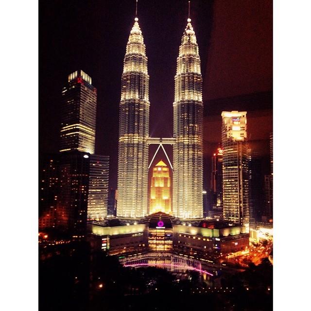 The Twin Towers | #KLCC #VMY2014 | Night View | Traders Hotel | Kuala Lumpur, Wilayah Persekutuan | Malaysia