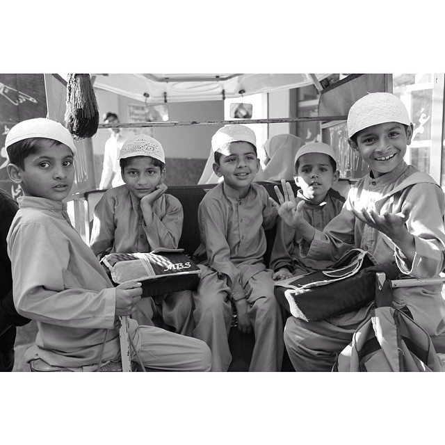 Local #Kids Near Student Biryani Restaurant | Spring 2013 | #Chiniot | #Punjab Province, Pakistan
