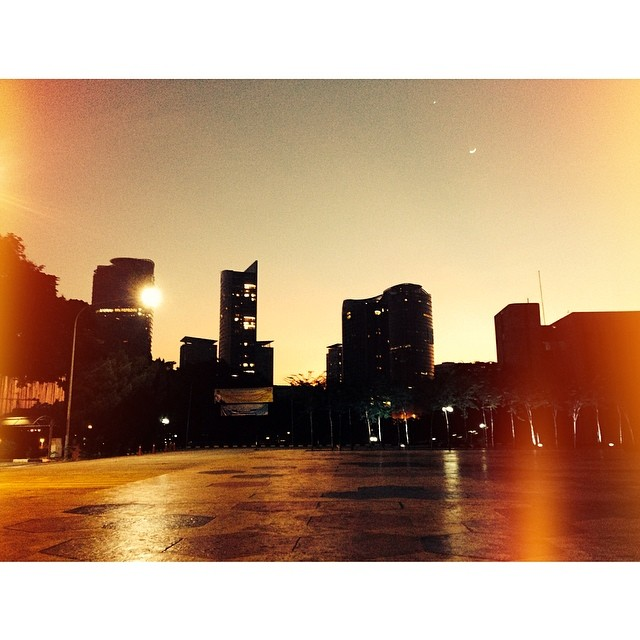 Good Morning! Kuala Lumpur | Monsoon 2014 | Vibrant Square | Bangsar, Kuala Lumpur | Wilayah Persekutuan, Malaysia