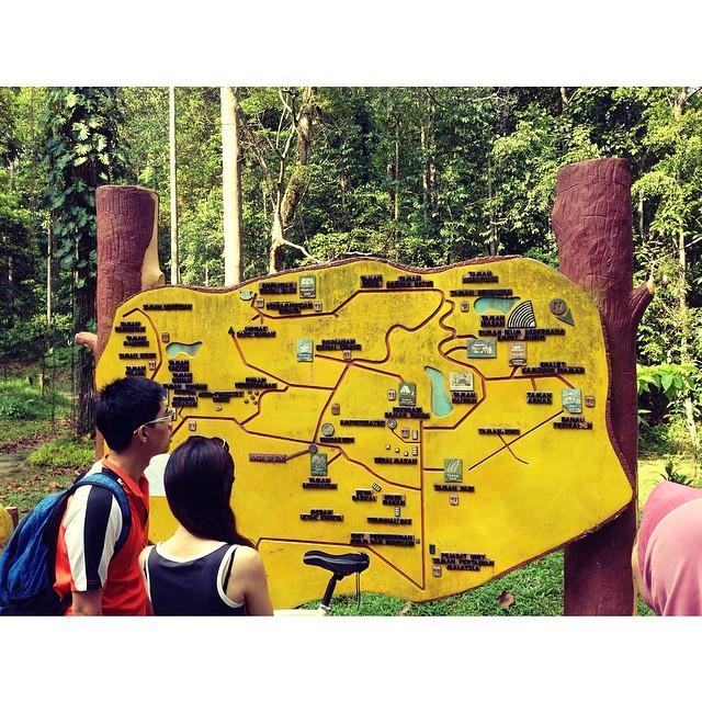Taman Pertanian Bukit Cerakah | #KLMJ #VMY2014 #JJCM | #Feeling2HikingTrail3 #PanasGiler #ParkingTakCukop #AkuYgHikingKoYgPanas | Shah Alam, Selangor | Malaysia