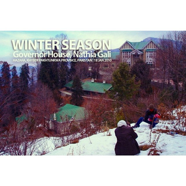 Menjejak Salji | #Nathiagali | #CampakBelakang | Winter 2010 | Khyber Pakhtoonkhwa Province, #Pakistan