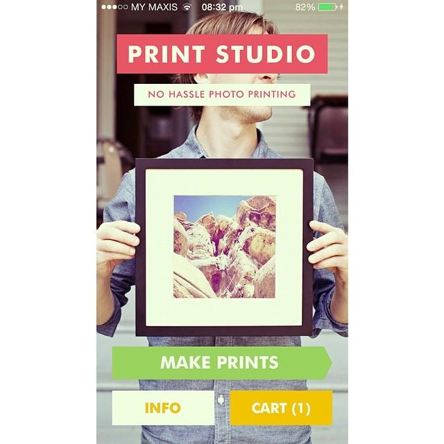 #PrintStudio #McmNakTryJe | KL, Malaysia