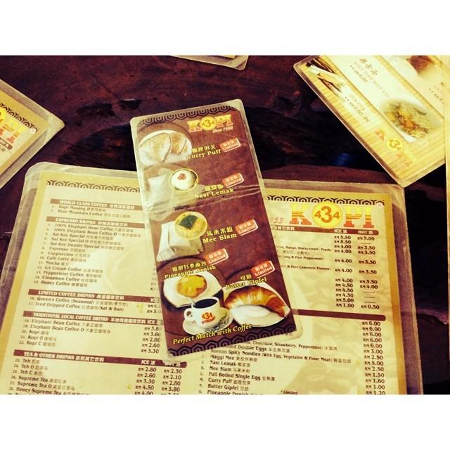 Breakfast Like A King | #Summer2014 #KopiElephant #PahitSiot #RotiGebu #WajibSinggah #Kopi434 | Muo, Johor | Malaysia