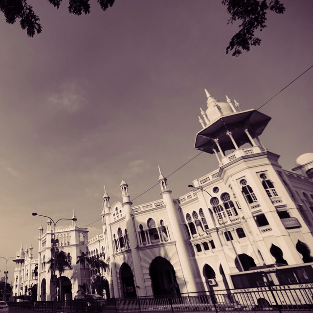 Neo-Moorish Style or Architecture | #Merdeka1957 #OldKL #DiSiniLahirnyaSebuahCinta | The Old KTMB KL Railway Station | Kuala Lumpur, Malaysia