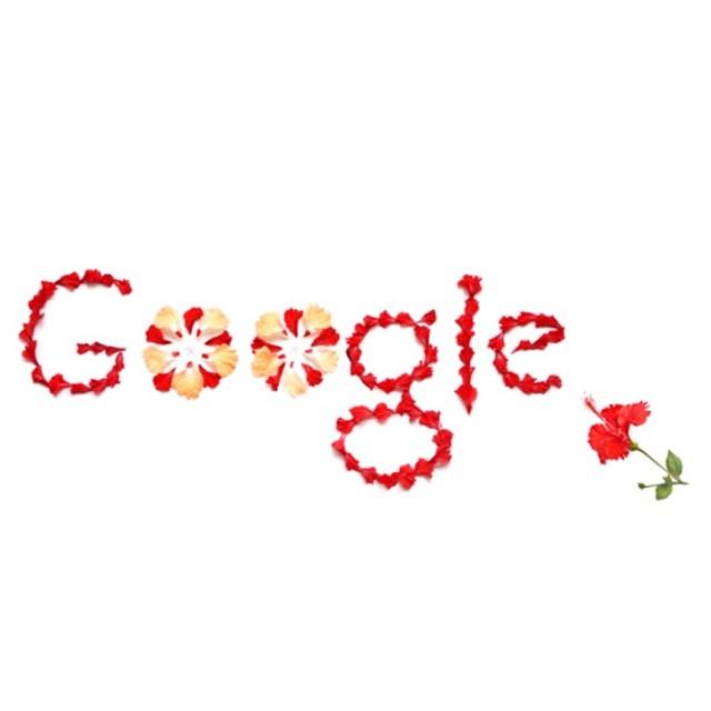 #Merdeka57 #HibiscusFlower #BungaRaya #GoogleDoodle | KL, Malaysia