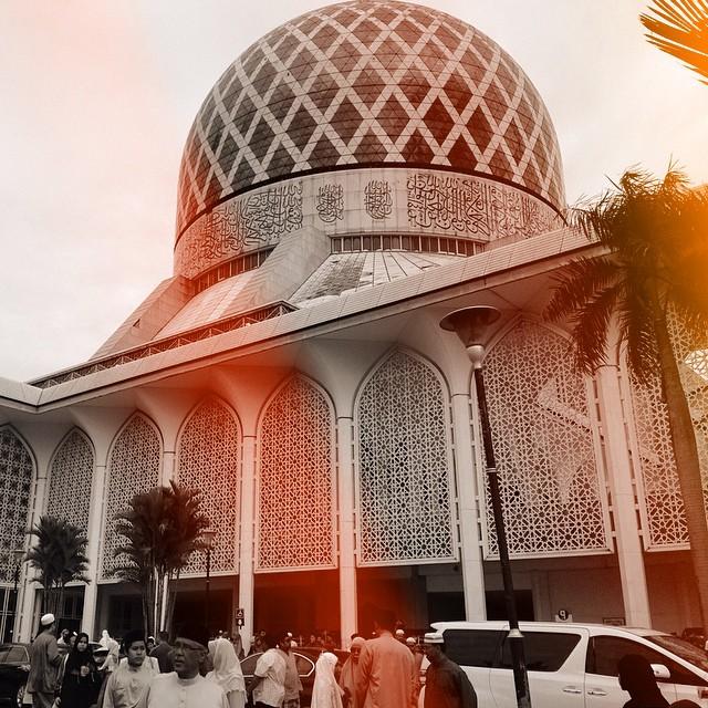 #SelamatHariRayaAidiladha #SalamAidiladha #EidMubarak #HariRayaKorban #MendungRaya | Masjid Negeri | Shah Alam | Selangor Darul Ehsan