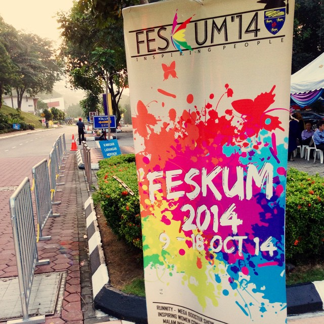 Pesta Konvo UM 2014 | Congratulation @khrlzaman | #FESKUM2014 #UM | University Malaya | Kuala Lumpur | Malaysia