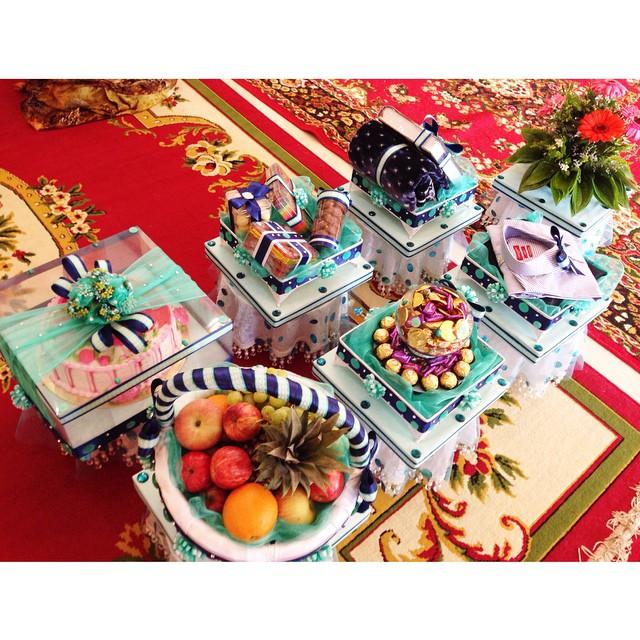 Engagement Day Shikin&Firdaus  | Masjid Tanah | Melaka | #eDayShikinFirdaus #25102014 #MaalHijrah #1Muharram1436H #KuehKoci #BukitBeringin