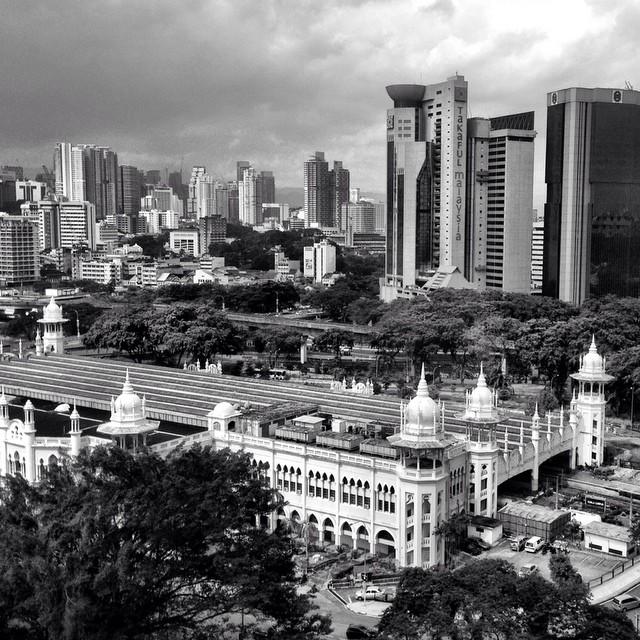 The Old KL Railway Station | #VisitMalaysia | Kuala Lumpur | Malaysia
