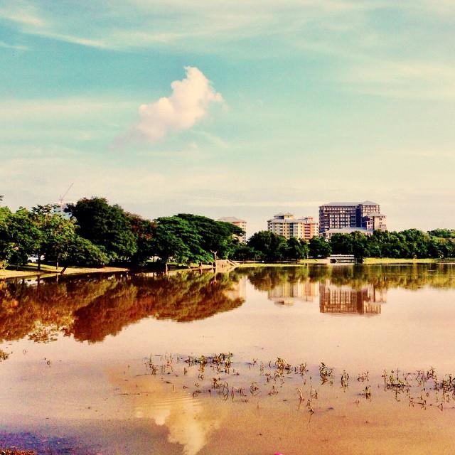 Morning View | Tasik Seksyen 7 | #FitMalaysia #PenatGiler #KhairyKJ #KuetiawAbgSado #RasaNakSwim #CircuitTrainingCgThaman | Shah Alam | Selangor | Malaysia