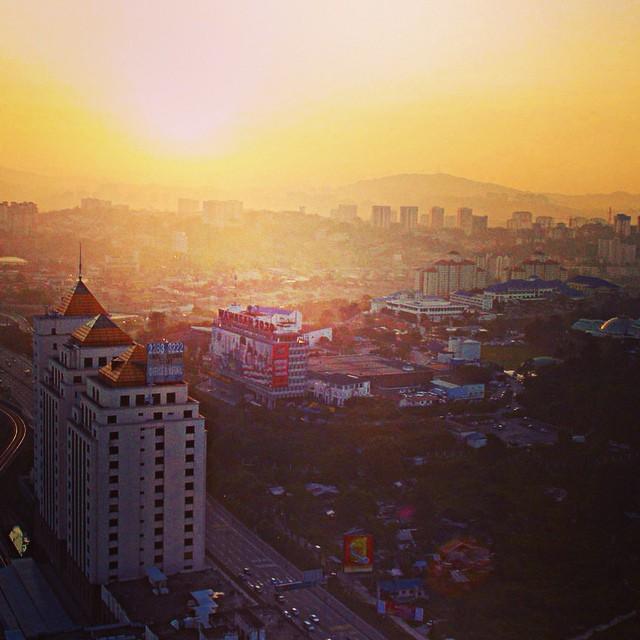 Sunrise | #MenaraRebung #TMTower #igersMY #VisitMalaysia | Kuala Lumpur | Malaysia