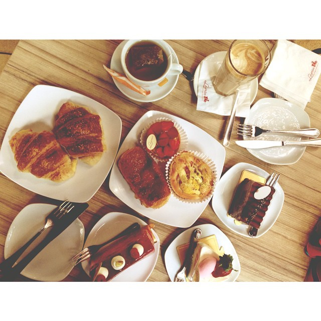 Birthday | Brunch | @erlena94 | Patiseeeghhhhiii | Fresh Bread @ Stone Oven | #Levain Boulangerie Patisserie | #FrenchLaSangat #SusahNakEja #Feeling2Paghis #JJCMPaghis #Mentekedarah | Kuala Lumpur | Malaysia