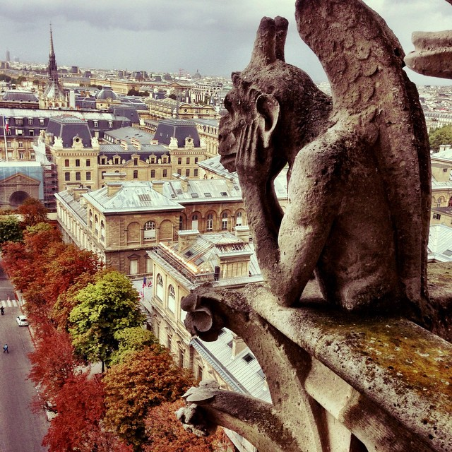 #NotreDame de #Paris | Ile de la Cite | #Gargoyles | Throwback #JJCMPaghis #Autumn2013 | 1345 | Coronation of Napoleon 1804 | 387 Steps | Paris | France