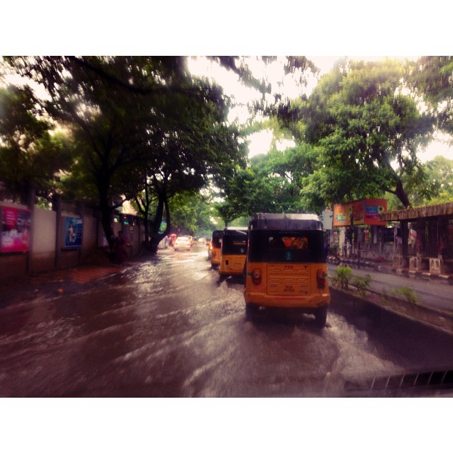 Alo! #Chennai சென்னை | Today Is Rain Holiday for Schools in Chenbni | #AnnaSalai | The Old #MountRoad | Partly The Grand Southern Trunk Road | #TamilNadu State | #India