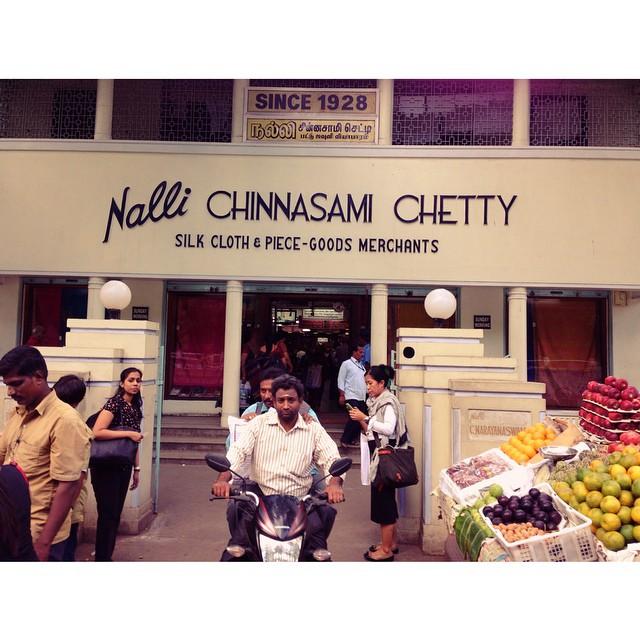 #Nalli Chinnasami Chetty | Since 1928 | The Famous Silk #Saree Shop | #Chennai | #TamilNadu State | #India