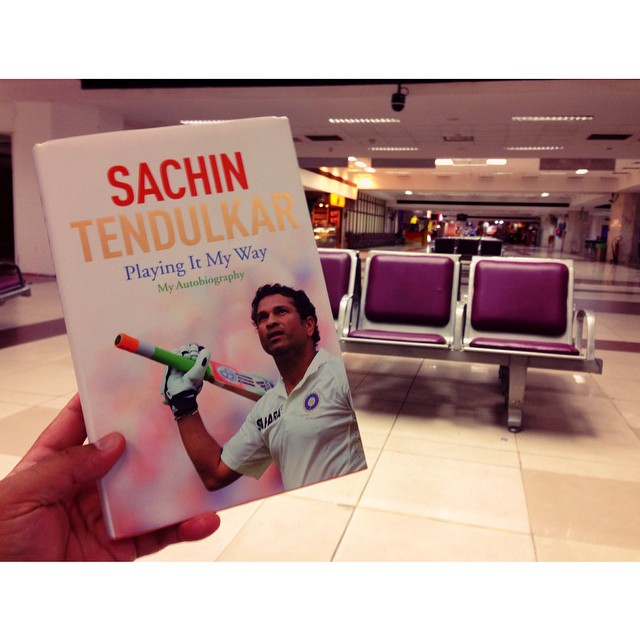 Playing It My Way by #SachinTendulkar | Hard Cover INR900 | Gate 15 | Chennai International Airport | #Chennai சென்னை | #TamilNadu State | India