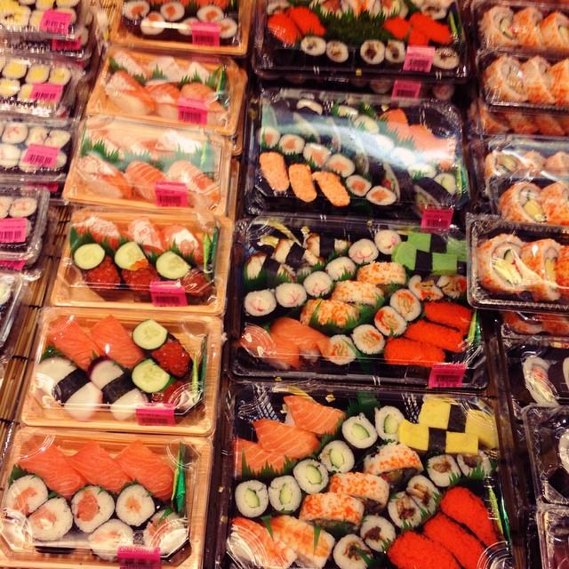 United Colours of #Sushi | Cold Storage | #KLCC | Kuala Lumpur | Malaysia #ColourBlock